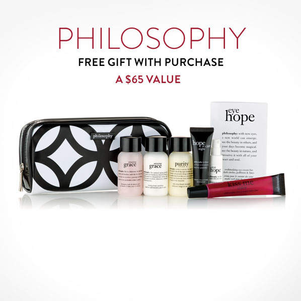PHILOSOPHY - FREE GIFT WITH PURCHASE - A $65 VALUE