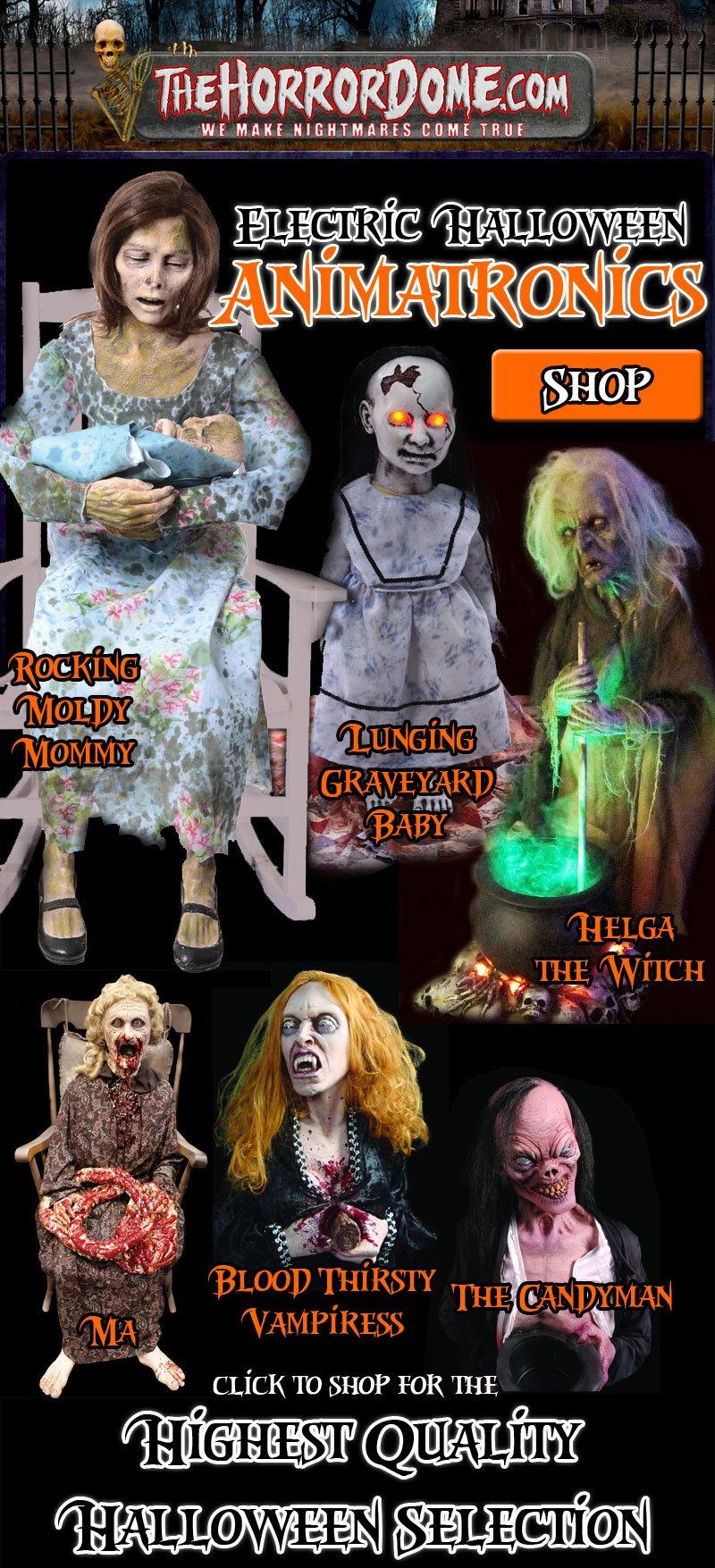 Electric Halloween Animatronics