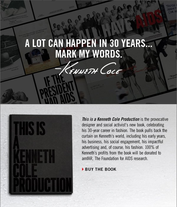 A LOT CAN HAPPEN IN 30  YEARS... MARK MY WORDS. › BUY THE BOOK