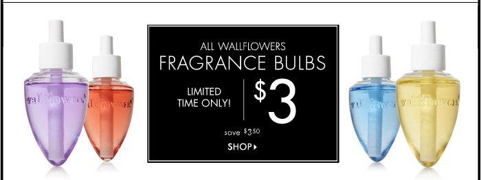 Wallflowers Fragrance Bulbs – $3