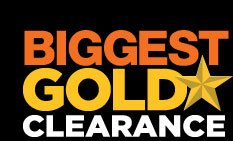 BIGGEST GOLD STAR CLEARANCE