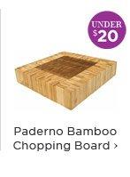 Paderno Bamboo Chopping Board