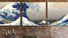 Triple Threat: Panoramic Triptych Canvas Art