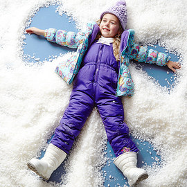 First Snowfall: Girls' Apparel