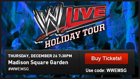 WWE Live – Madison Square Garden