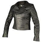Xelement Womens Vixen Black Leather Jacket