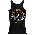 Sons of Anarchy Womens SAMCRO Charging Reaper For Life Tank Top