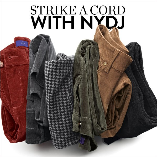 STRIKE A CORD WITH NYDJ