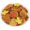 Fallen Leaves Cookie Tray