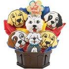 Puppy Love Cookie Bouquet