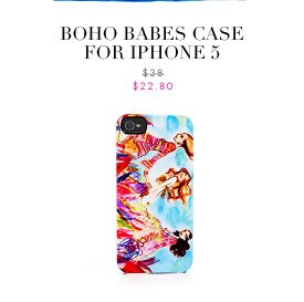 BOHO BABES CASE FOR IPHONE 5