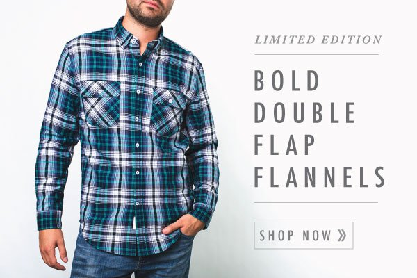 Have a look, these limited edition flannels won't last.