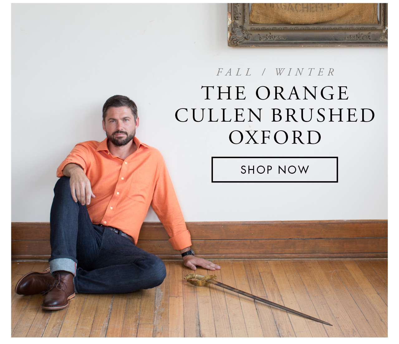 The Orange Cullen Brushed Oxford