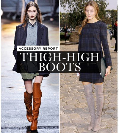 The Boldest Shoe Style For Fall: Over-The-Knee Boots