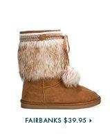 Fairbanks-$39.95