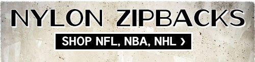 Nylon Zipbacks