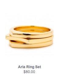 Aria Ring Set