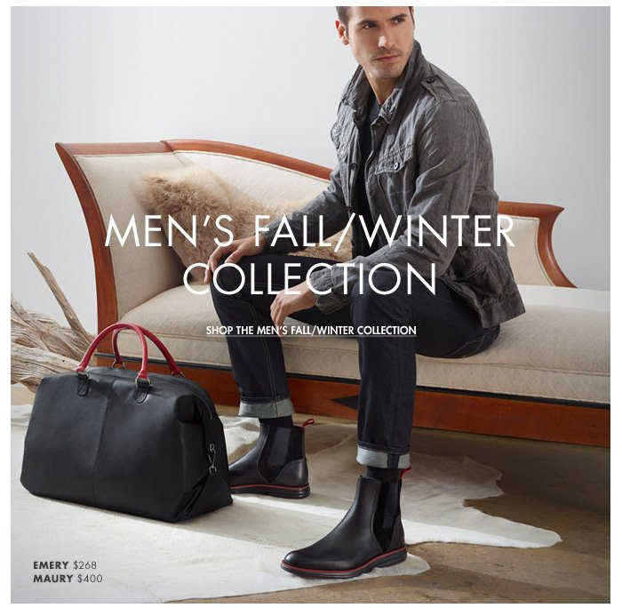 Shop the Men's Fall/Winter Collection