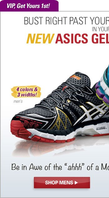 Bust Right Past Your Personal Best in Your New ASICS GEL-Kayano 20. Shop Men's
