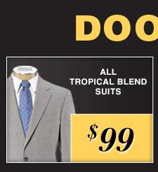 $99 USD - Tropical Blend Suits