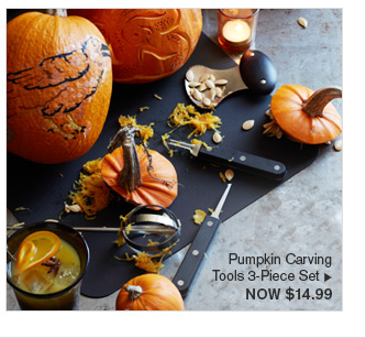 Pumpkin Carving Tools 3-Piece Set - NOW $14.99