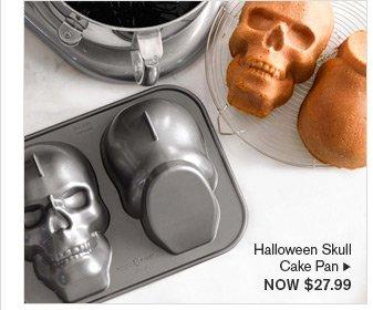 Halloween Skull Cake Pan - NOW $27.99