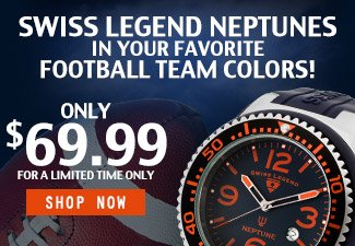 Neptune Football Watches