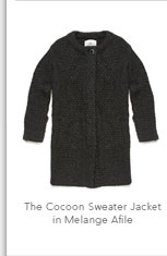 The Cocoon Sweater Jacket