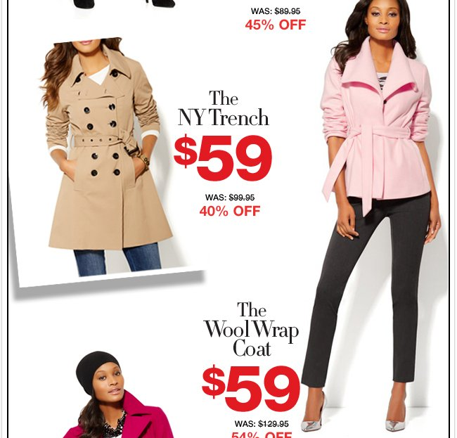 The Columbus Day Outwear Sale Begins Today! SHOP Now!