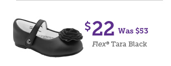 $22 Was $53 Flex Tara Black