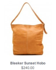 Bleeker Sunset Hobo