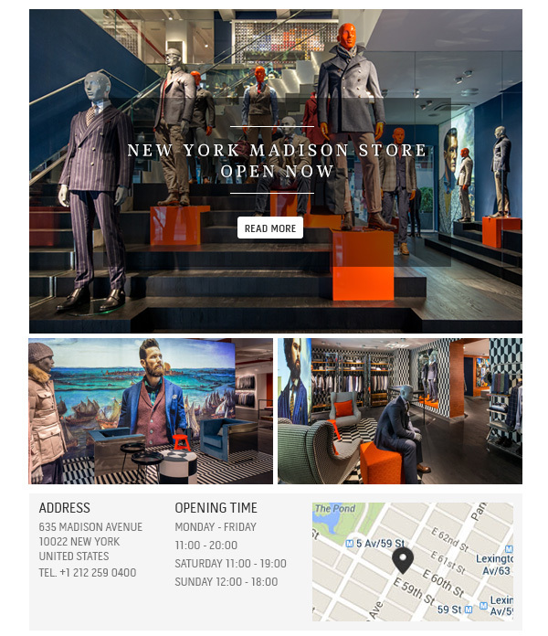 Read more about our NYC Madison store opening