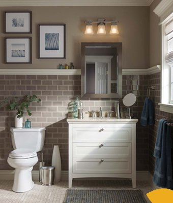 Love This Look? Shop it Here. Shop our collections to update your bathroom with ease.