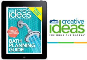 Lowe's Creative Ideas for Home and Garden