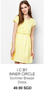 I.C BY INNER CIRCLE Summer Breeze Dress