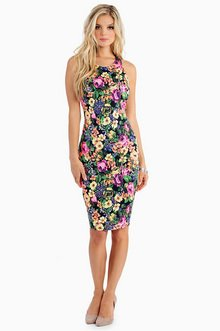 JUST ONE PETAL TANK DRESS 39