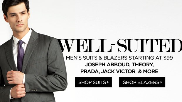 Suits and Blazers