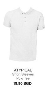 Atypical Short Sleeves Polo Tee