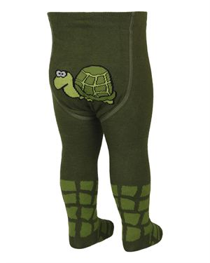 Fizter Kidswear Turtle Print Kid's Tights