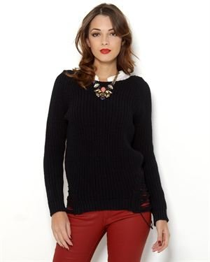 Pierre Balmain Detailed Knit Sweater - Made in Italy