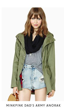MinkPink Dad's Army Anorak