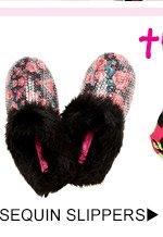 Shop Sequin Slippers