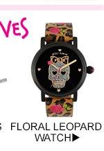 Shop Floral Leopard Watch