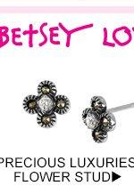 Shop Precious Luxuries Flower Stud