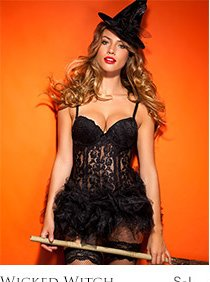 Wicked witch lingerie set