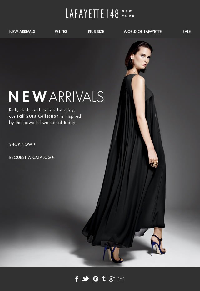 Just Arrived! New Evening Styles