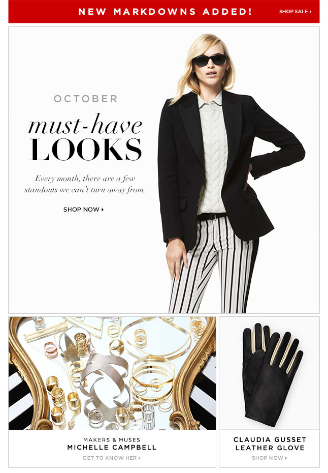 Must-Have Looks For October