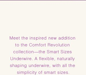 Comfort Revolution® Underwire with Smart Sizes  |  STYLE 3428