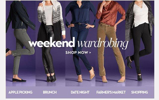 weekend wardrobing
