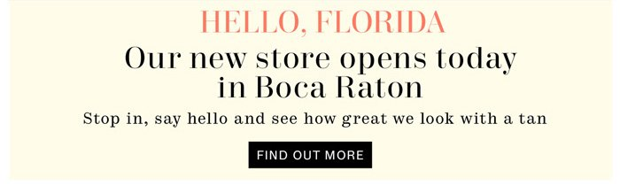 Hello, Florida Find out more